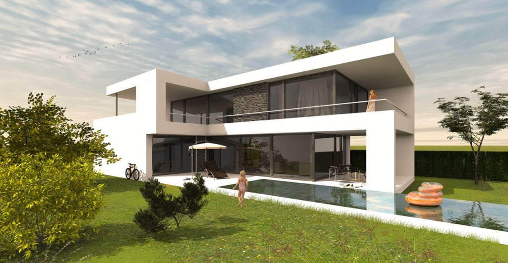 Architektenhaus L-Form