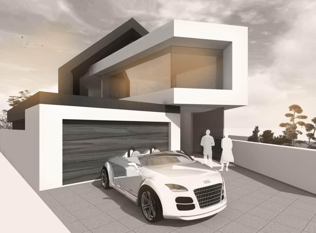 Architektenhaus Satteldach