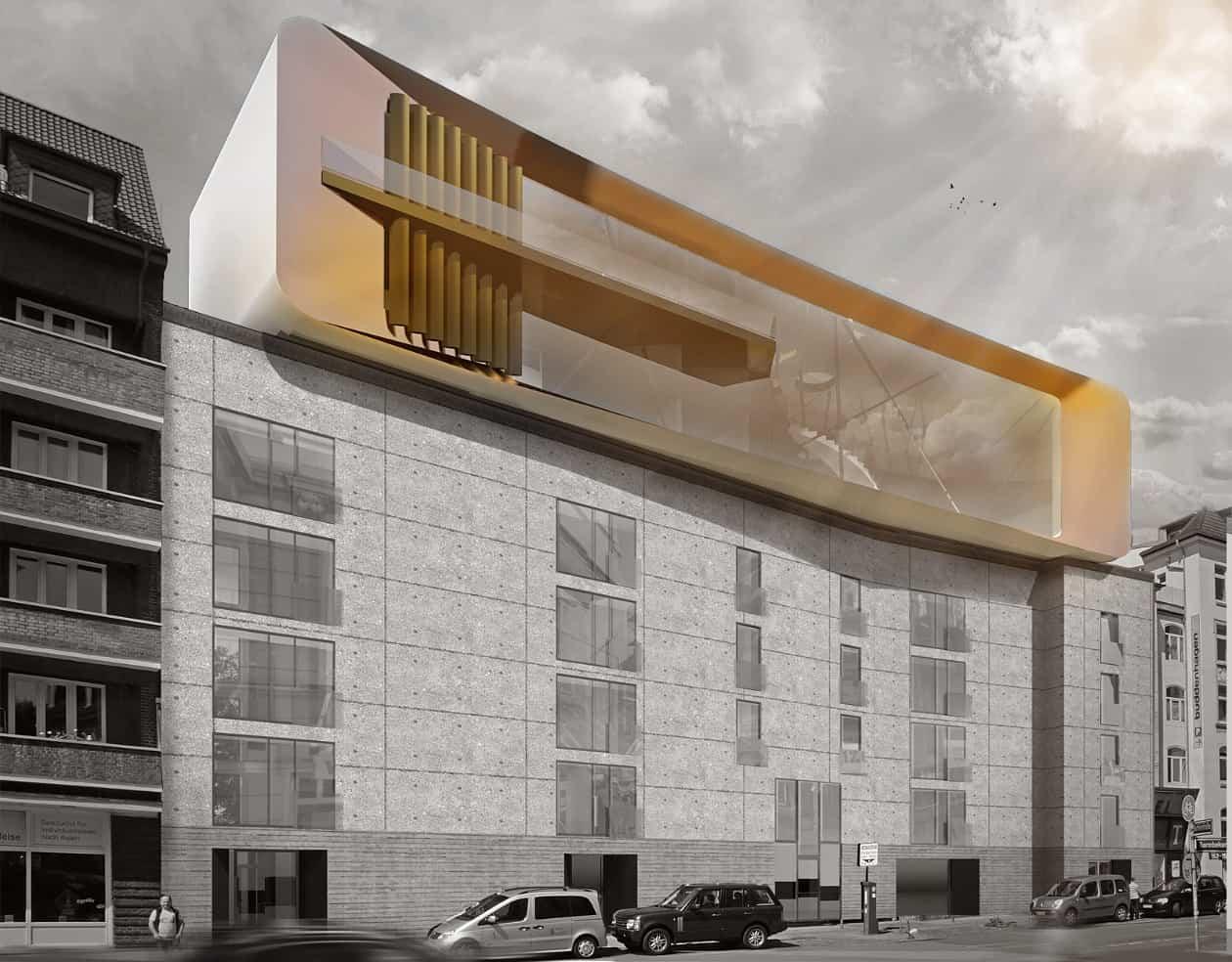 Modernes Penthouse bauen