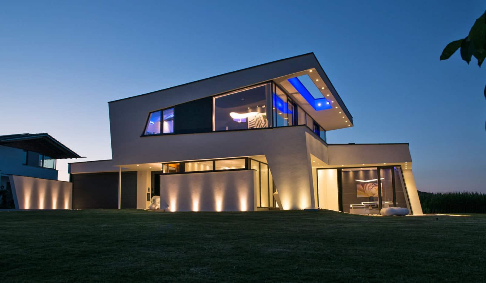 Architektenhaus Pultdach Dingolfing