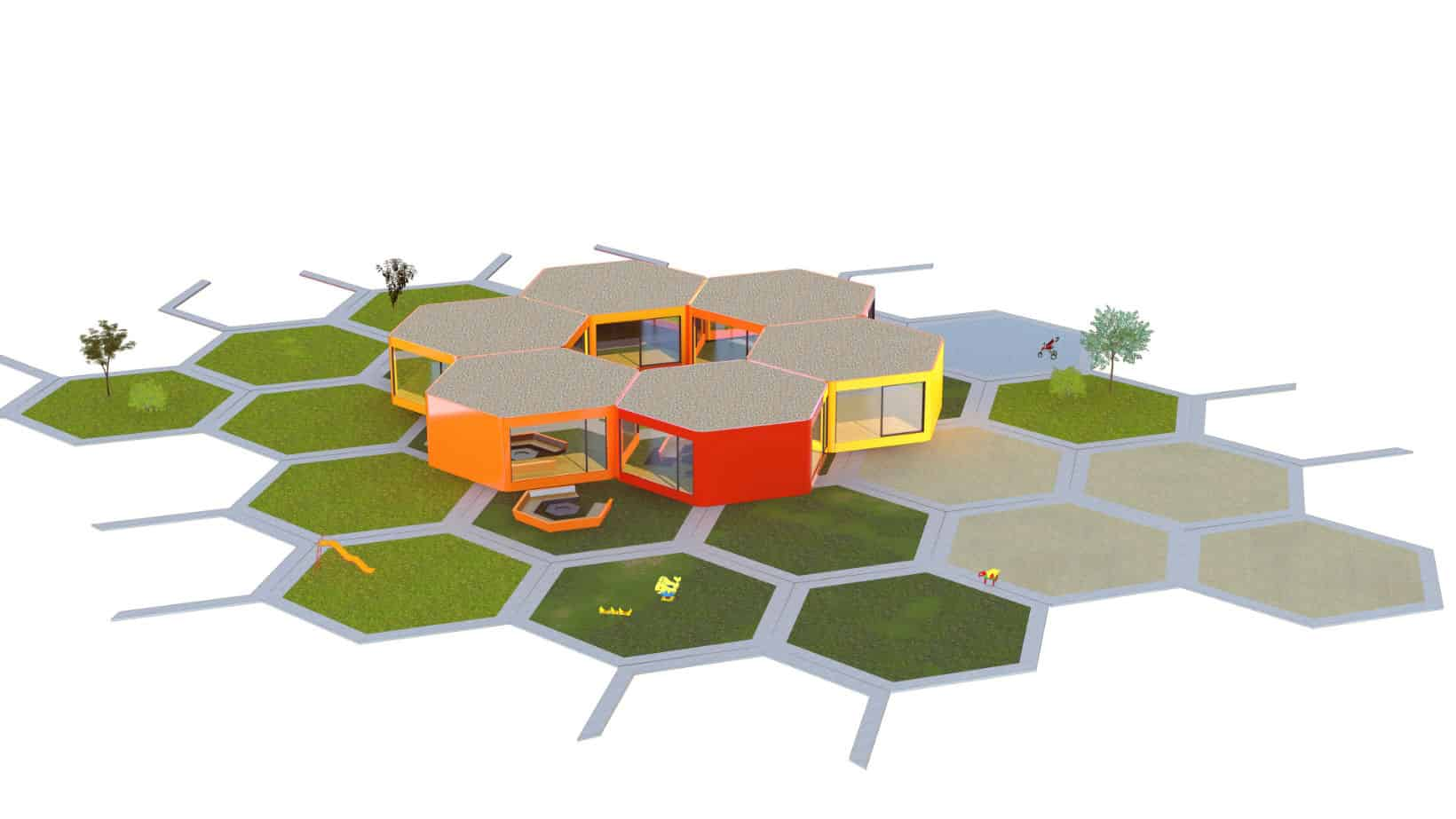modulare KITA bauen