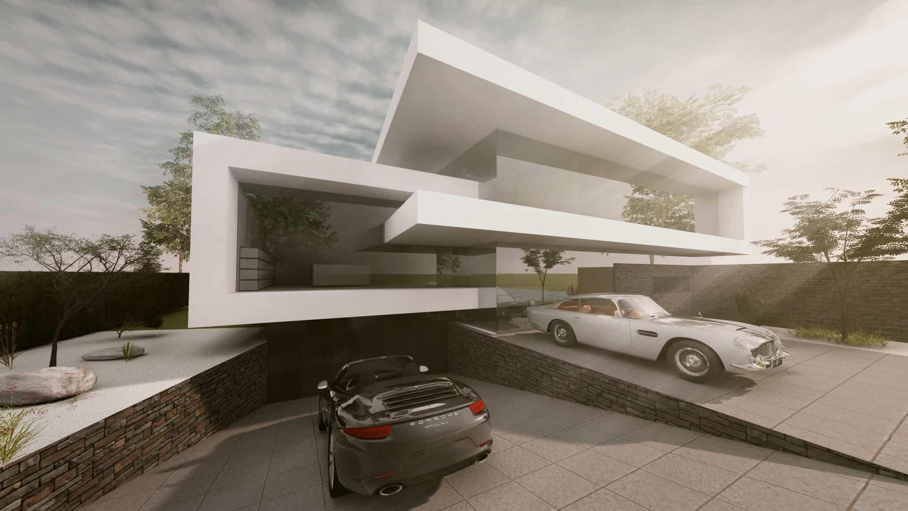 Moderne Häuser bauen Bilder