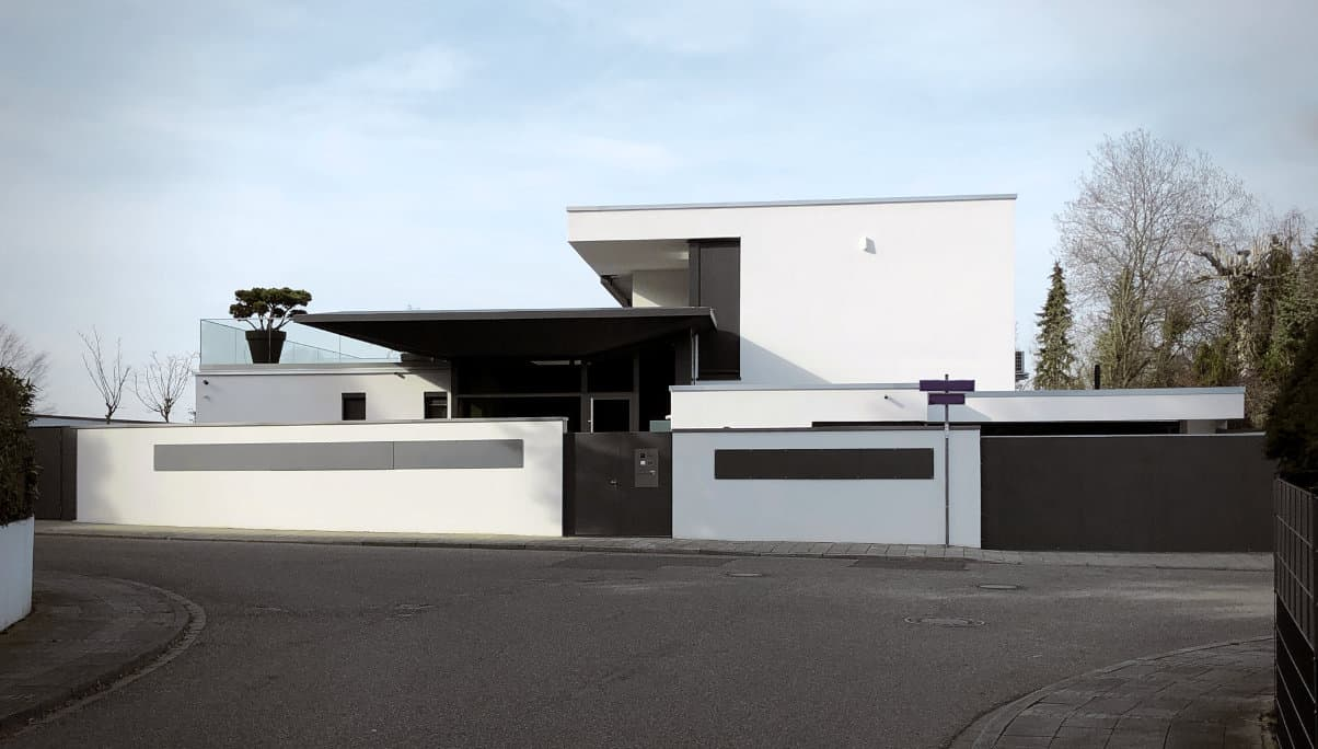 Modernes Architektenhaus Karlsruhe