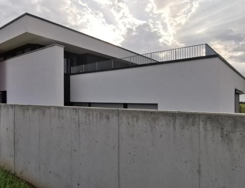 Designvilla in moderner Architektur in Brehna