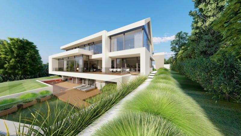 Moderne Villa Satteldach