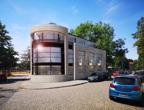 Modernes Wohn- und Geschäftshaus in Leipzig
