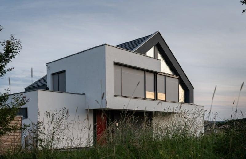 Satteldach ohne Dachüberstand