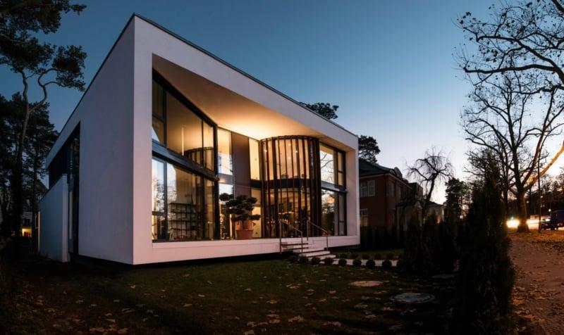 Villa im Bauhausstil in Berlin-Zehlendorf