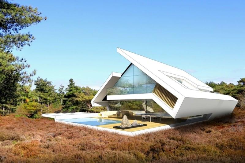 Satteldach Design modern