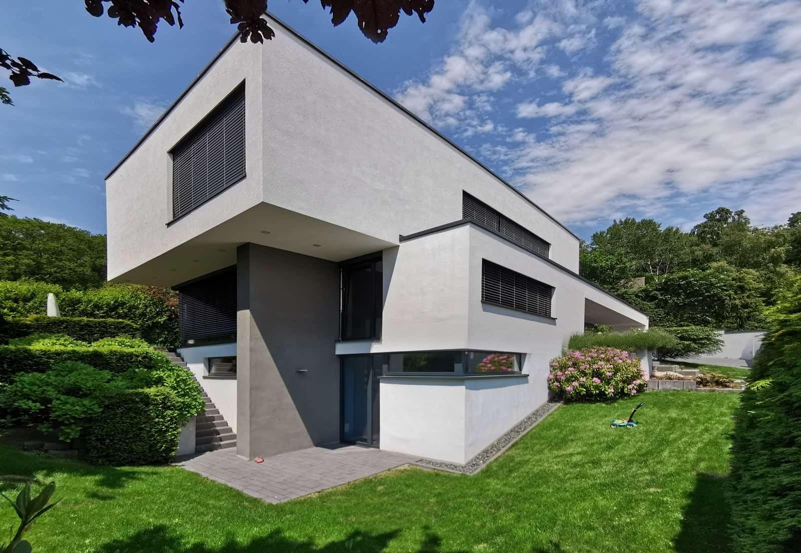 Einfamilienhaus moderne Architektur