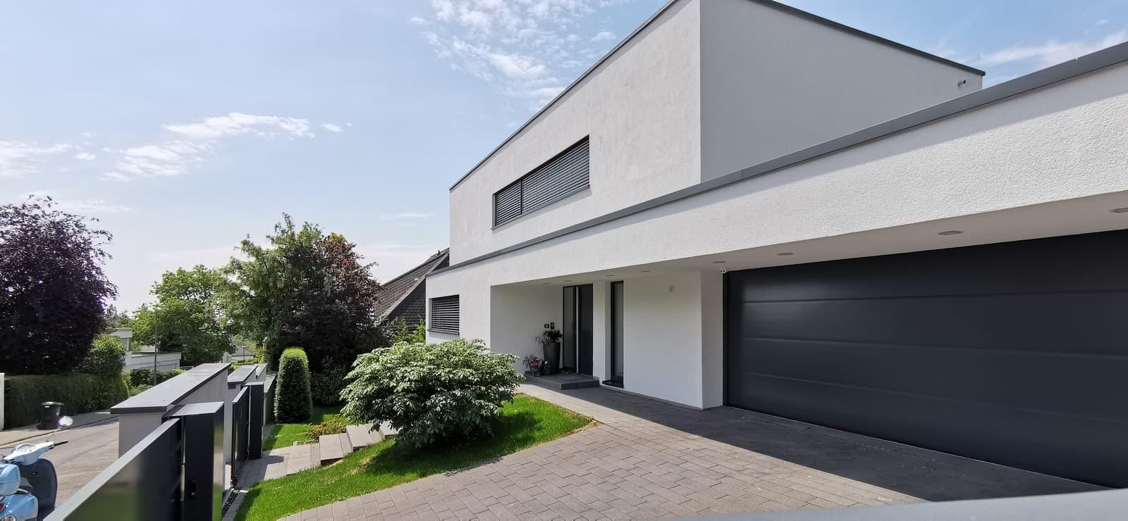 Einfamilienhaus Flachdach