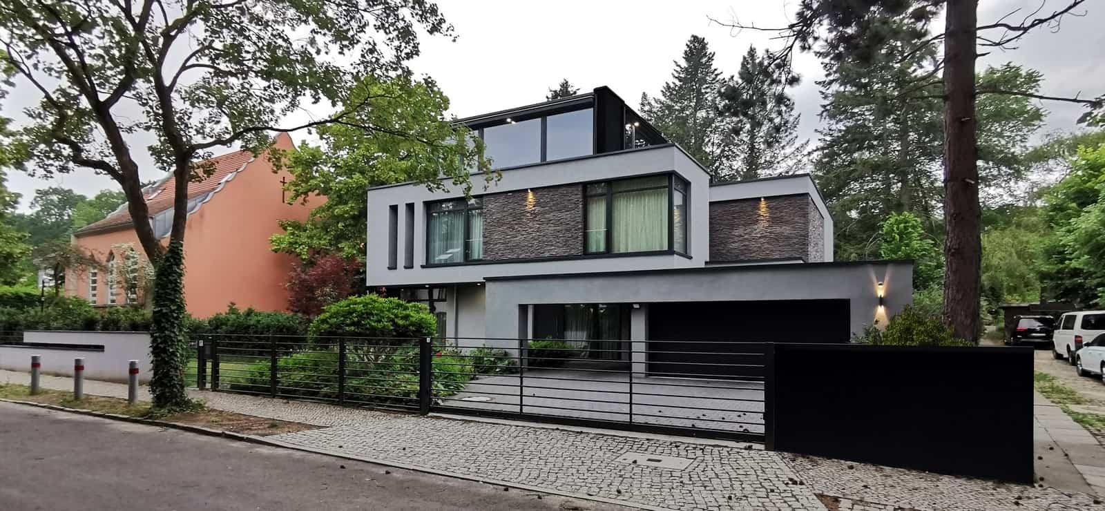 Wohnhaus modern geplant