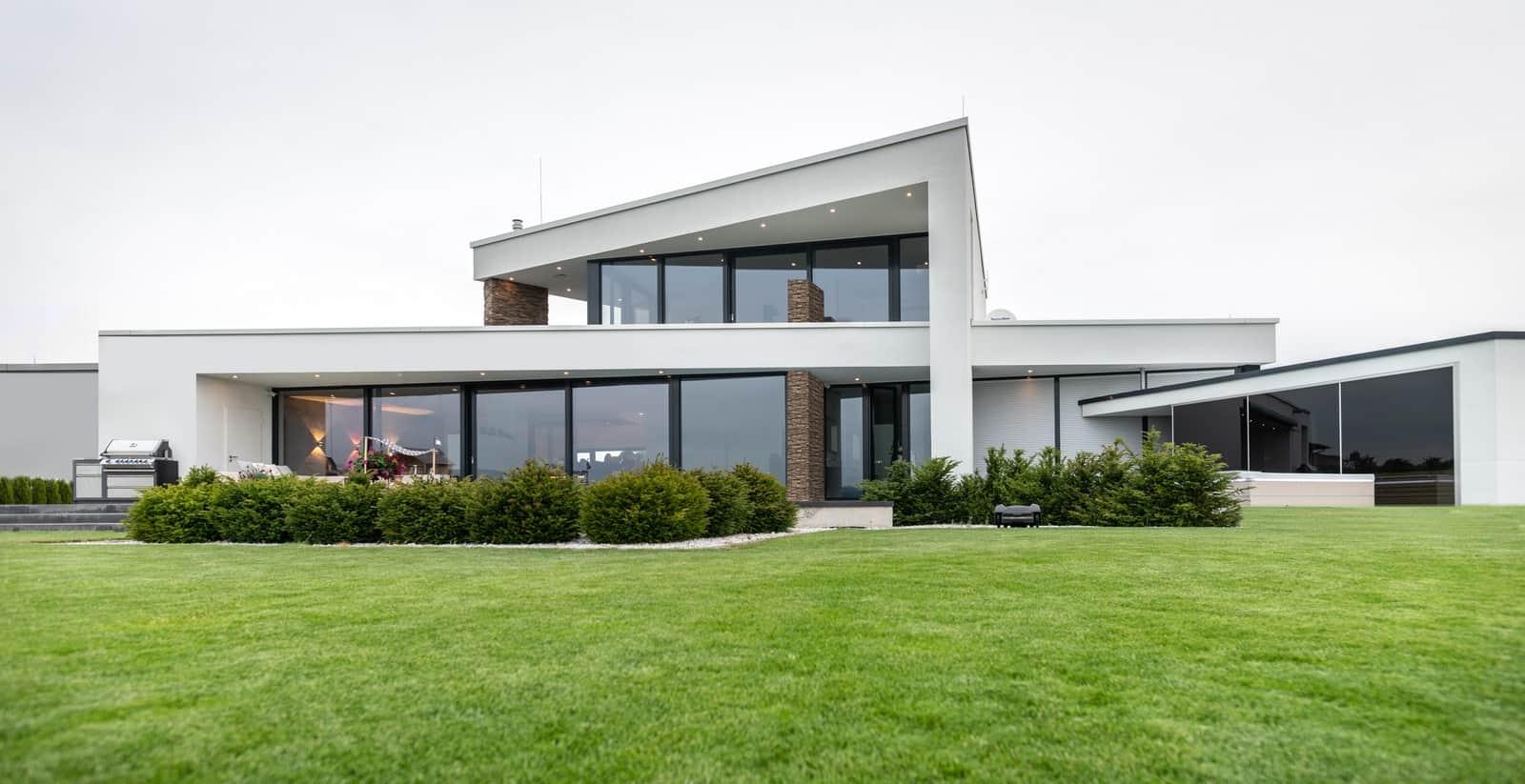 Architektenhaus Flachdach