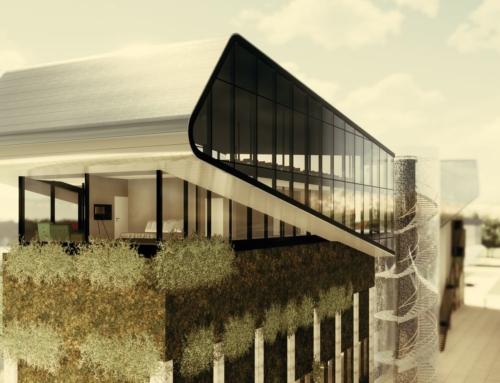 Technologiezentrum auf Hochbunker