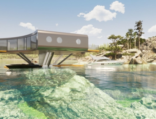 TRICORN REVOLVING HOUSE OCEAN