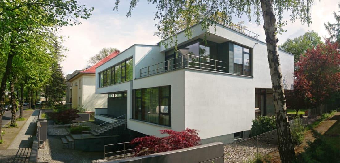 modernes architektenhaus flachdach bauen avantecture