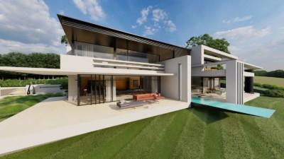 Moderne Luxusvilla am Hang