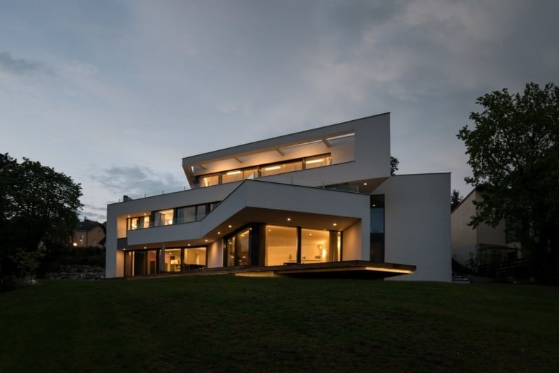 Haus im Hang Luxus