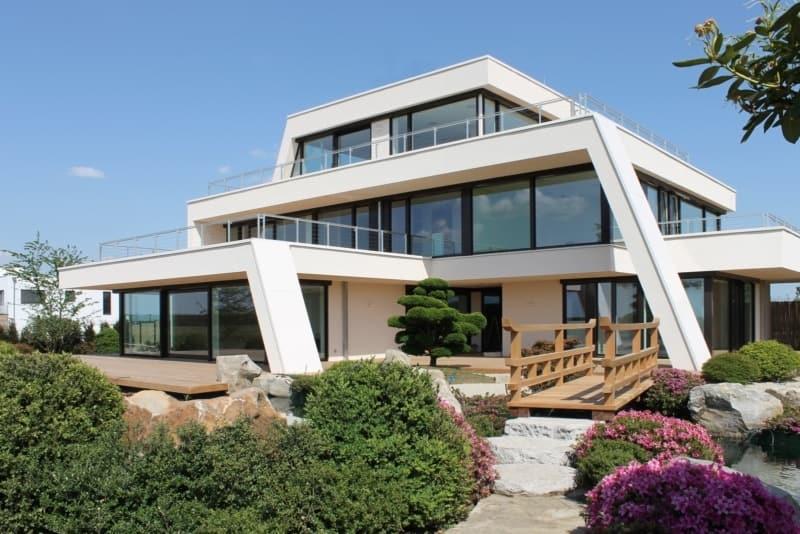 Modernes Flachdachhaus