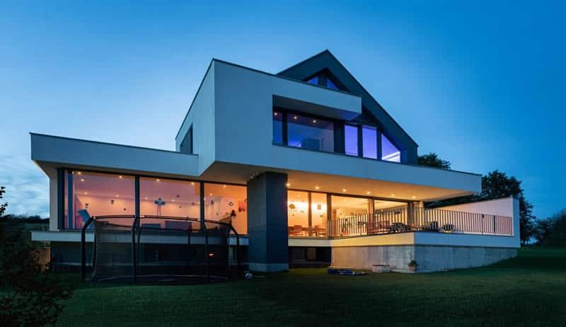 Architektenhaus Satteldach modern