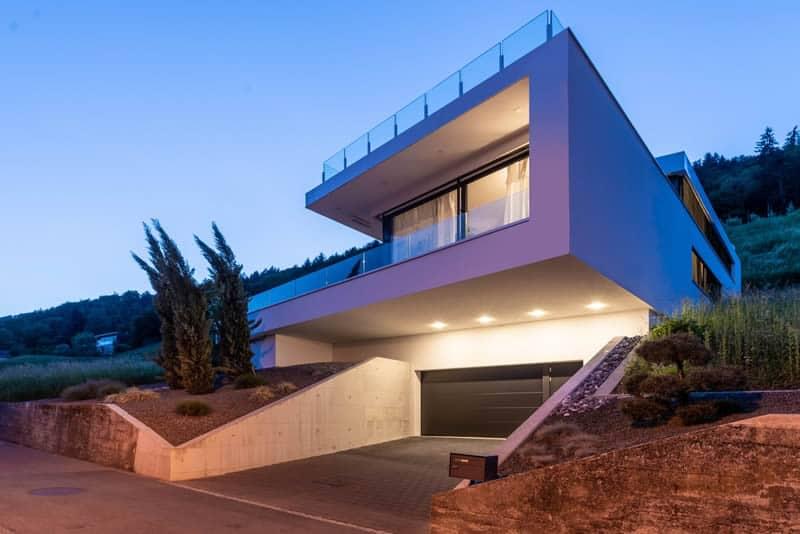 Architektenhaus am Weinhang Schweiz