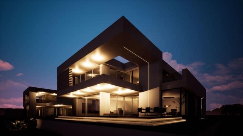 Bruderhäuser: 2 Bauhaus-Villen nebeneinander