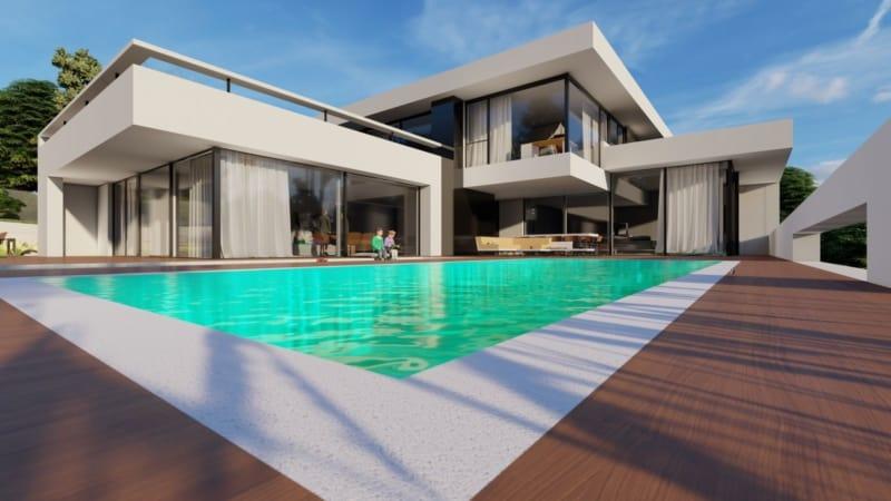 Entwurf Einfamilienhaus Architekt