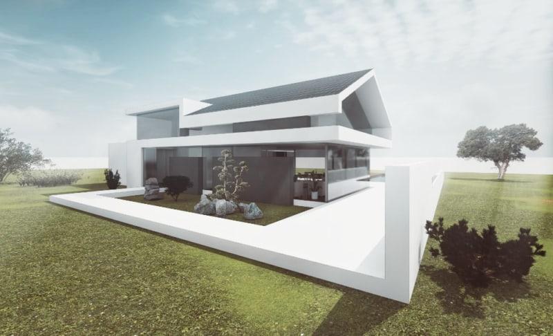 Design Satteldach modern