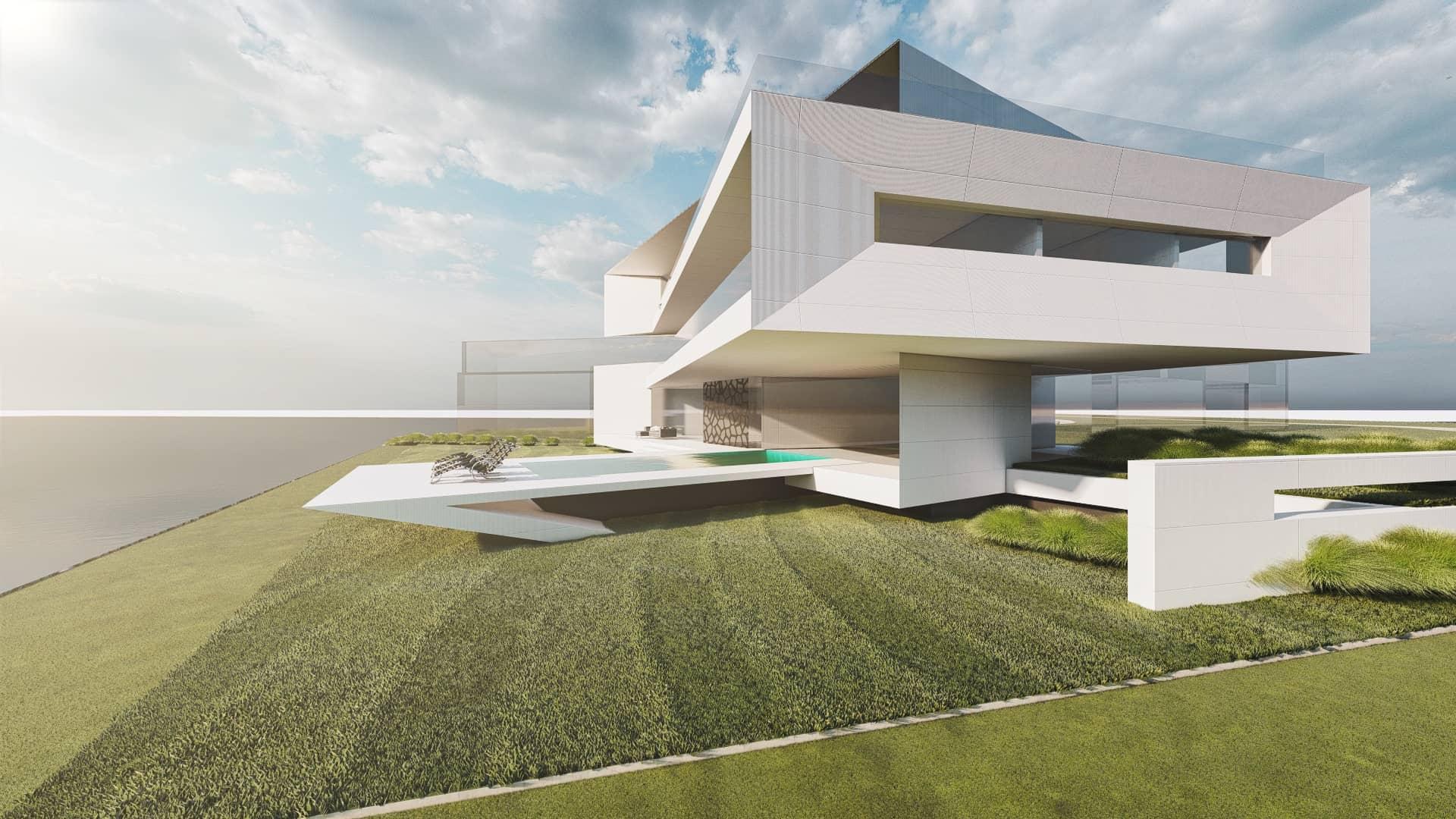 Luxusvilla modern
