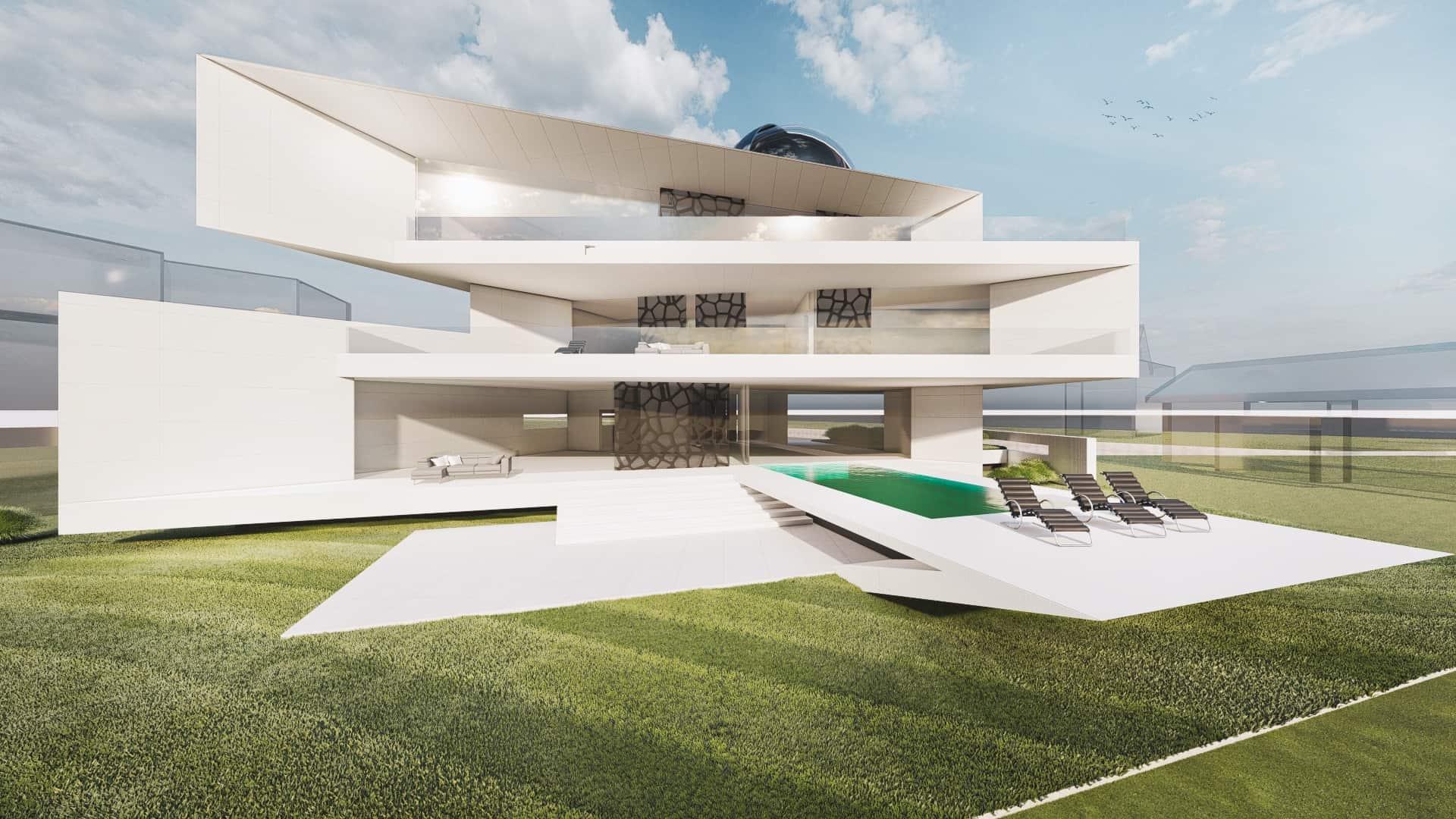 Moderne Designvilla