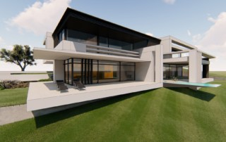 Moderne Villa am Hang