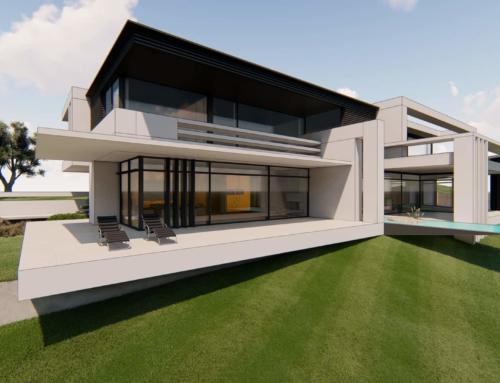 Baugenehmigung für Villa am Hang in Oberfranken eingetroffen