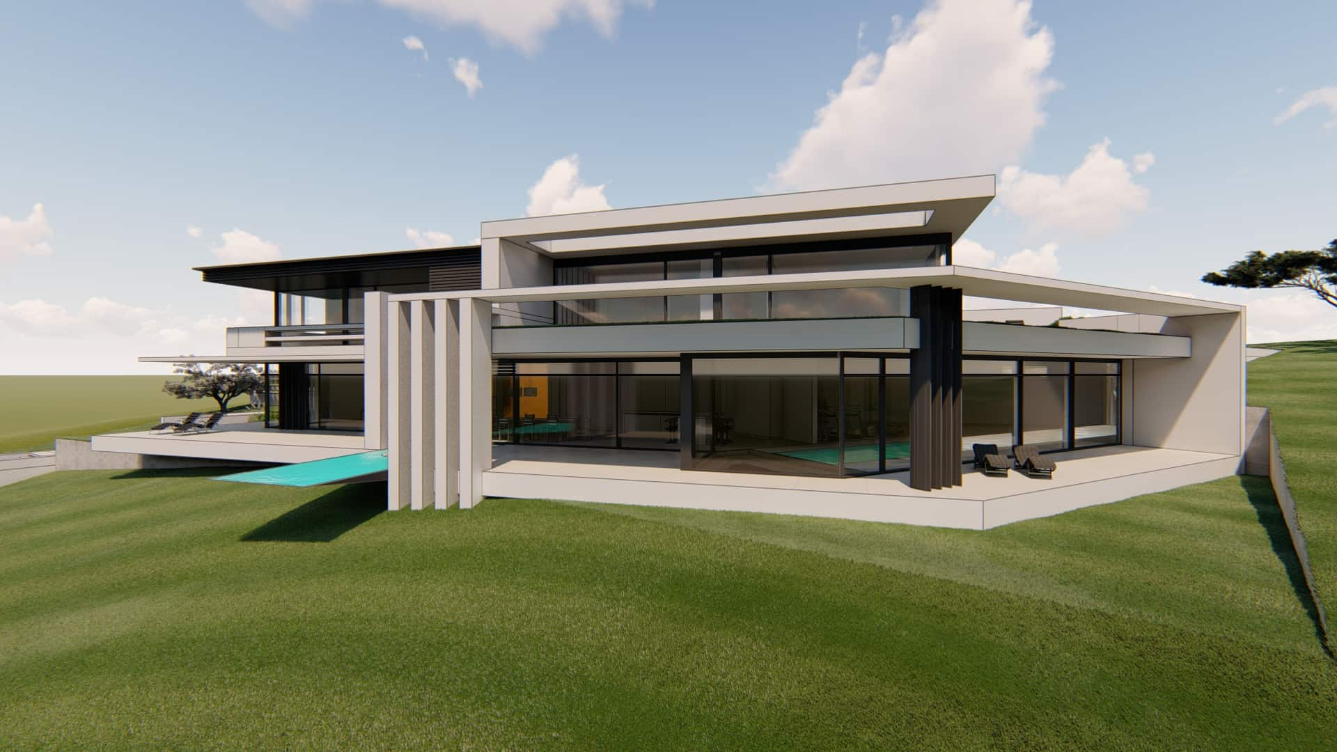 Hangvilla modern
