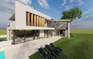 Villa 2-geschossig